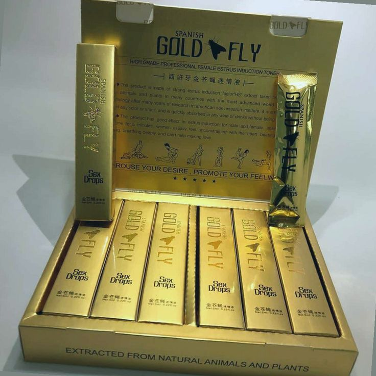 Spanish Gold Fly Drop 5 mlSpecifications: